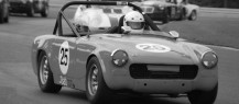 Peter Uzdavinis- ran is strong 1964 MG Midget.